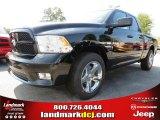 2012 Black Dodge Ram 1500 Express Quad Cab #71383684