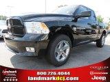 2012 Black Dodge Ram 1500 Express Quad Cab #71383682