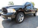 2012 Black Dodge Ram 1500 Express Quad Cab #71383681