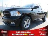 2012 Black Dodge Ram 1500 Express Quad Cab #71383676
