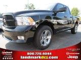 2012 Black Dodge Ram 1500 Express Quad Cab #71383675