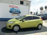 2013 Lime Squeeze Ford Fiesta SE Hatchback #71434529