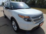 2013 White Platinum Tri-Coat Ford Explorer XLT #71435215