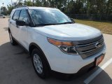 2013 Oxford White Ford Explorer FWD #71435214