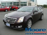 2009 Black Cherry Cadillac CTS Sedan #7131004