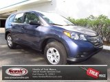 2012 Twilight Blue Metallic Honda CR-V LX #71434414