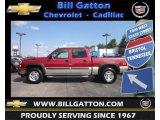 2006 Sport Red Metallic Chevrolet Silverado 1500 Z71 Crew Cab 4x4 #71435145