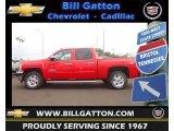 2013 Victory Red Chevrolet Silverado 1500 LT Crew Cab 4x4 #71435141