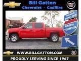 2013 Victory Red Chevrolet Silverado 1500 LT Crew Cab #71435135