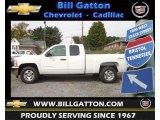 2013 Summit White Chevrolet Silverado 1500 LT Extended Cab 4x4 #71435133