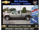 2013 Graystone Metallic Chevrolet Silverado 1500 LS Extended Cab #71435129