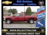 2013 Deep Ruby Metallic Chevrolet Silverado 1500 LS Extended Cab #71435128