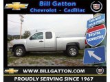2012 Silver Ice Metallic Chevrolet Silverado 1500 LT Extended Cab 4x4 #71435114