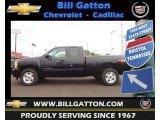 2012 Black Chevrolet Silverado 1500 LT Extended Cab 4x4 #71435111