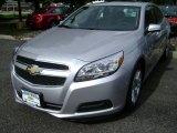 2013 Silver Ice Metallic Chevrolet Malibu LT #71434345
