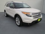 2013 White Platinum Tri-Coat Ford Explorer XLT #71434741