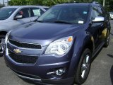 2013 Atlantis Blue Metallic Chevrolet Equinox LTZ AWD #71434333