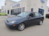 2003 Twilight Blue Metallic Ford Focus SE Sedan #71434699