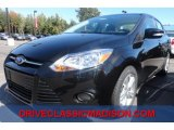 2013 Tuxedo Black Ford Focus SE Sedan #71383998