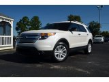 2013 White Platinum Tri-Coat Ford Explorer XLT #71383979