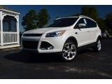 2013 White Platinum Metallic Tri-Coat Ford Escape Titanium 2.0L EcoBoost #71383971