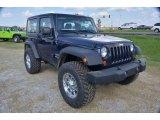 2013 Jeep Wrangler True Blue Pearl
