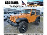 2012 Crush Orange Jeep Wrangler Sport 4x4 #71434647