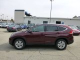 2013 Basque Red Pearl II Honda CR-V EX-L AWD #71434990