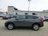 2013 Polished Metal Metallic Honda CR-V EX AWD #71434989