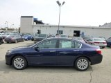 2013 Obsidian Blue Pearl Honda Accord EX-L Sedan #71434988
