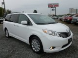 2011 Super White Toyota Sienna Limited AWD #71434971