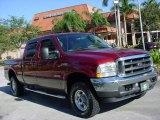 2003 Toreador Red Metallic Ford F250 Super Duty Lariat Crew Cab 4x4 #687825