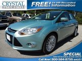 2012 Frosted Glass Metallic Ford Focus SEL Sedan #71434959