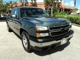 2006 Blue Granite Metallic Chevrolet Silverado 1500 Work Truck Extended Cab #71434591