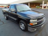 2002 Onyx Black Chevrolet Silverado 1500 Work Truck Regular Cab #71434936