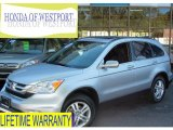 2010 Alabaster Silver Metallic Honda CR-V EX-L AWD #71434569