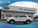 2013 Oxford White Ford Explorer 4WD #71434557