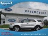 2013 Ingot Silver Metallic Ford Explorer XLT 4WD #71434555
