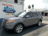 2013 Sterling Gray Metallic Ford Explorer Limited #71434535