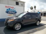 2013 Tuxedo Black Metallic Ford Explorer Limited #71434534