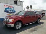 2013 Ruby Red Metallic Ford F150 XLT SuperCrew #71504607