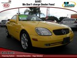 1998 Sunburst Yellow Mercedes-Benz SLK 230 Kompressor Roadster #71504824