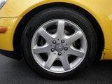 1998 Mercedes-Benz SLK 230 Kompressor Roadster Wheel