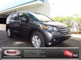 2013 Polished Metal Metallic Honda CR-V EX AWD #71504560
