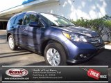 2013 Twilight Blue Metallic Honda CR-V EX-L #71504559