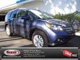 2013 Twilight Blue Metallic Honda CR-V EX-L #71504559