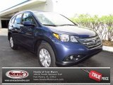 2013 Twilight Blue Metallic Honda CR-V EX-L #71504558