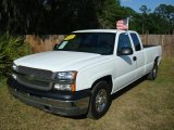 2004 Summit White Chevrolet Silverado 1500 LS Extended Cab #545859