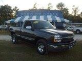 2004 Dark Gray Metallic Chevrolet Silverado 1500 LS Regular Cab #544261