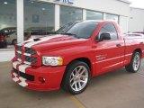2004 Flame Red Dodge Ram 1500 SRT-10 Regular Cab #71531292